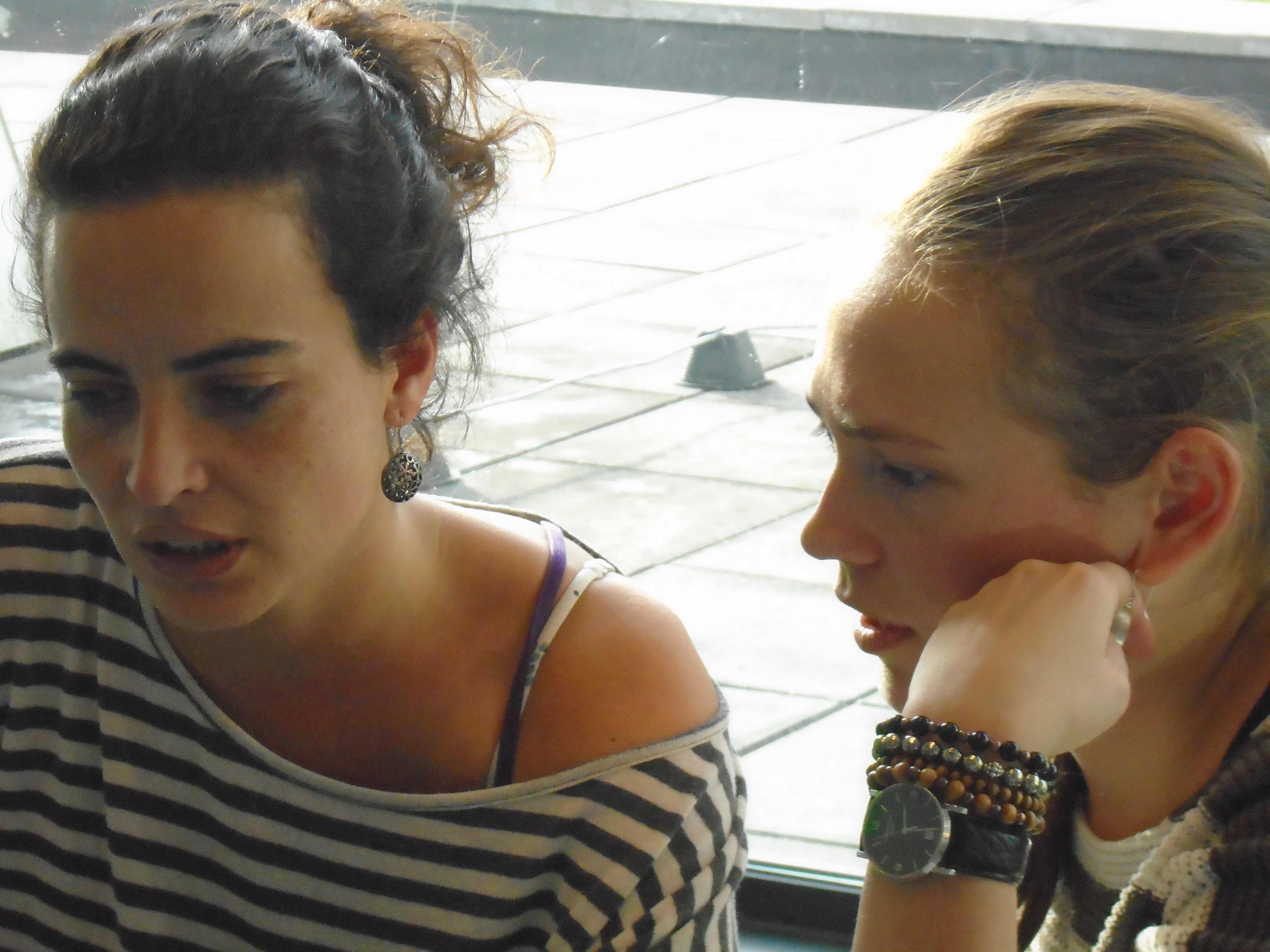 Irene and Tamara